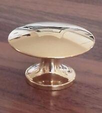bouton lentille, laiton massif, 35 mm