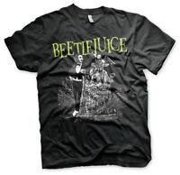 Beetlejuice Headstone Betelgeuse Grabstein Tombstone 1988 Männer Men T-Shirt