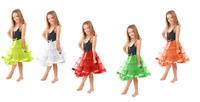 Kids Girls Tutu Skirt Dance Tutu Fancy Party Petticoat Layer Dress Ballet 8-12Yr