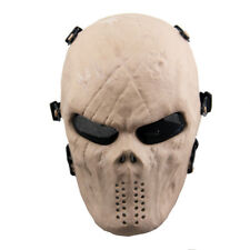 Airsoft Paintball Tactical Full Face Mask Combat Skull Game Protect Tan God