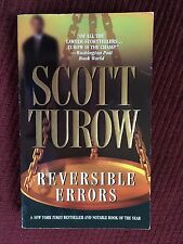 Scott Turow - Reversible Errors (a Kindle County novel) (2002) - Paperback