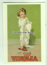ad3473 - Vinolia Soap - Child Wrapped up in a Blanket - Modern Advert Postcard