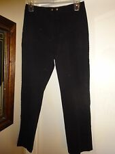 Lauren Jeans Co Ralph Lauren Jeans Black Denim Size 12 Zip Front 1 Watch Pocket