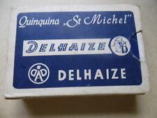 ancien jeu de carte publicitaire aperitif  quinquina saint michel