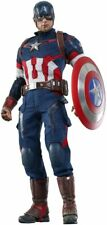 Movie Masterpiece Avengers Age of Ultron CAPTAIN AMERICA 1/6 Figure Hot Toys New