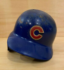 Chicago Cubs Game Used Rawlings Home Helmet - #13 - Nefi Perez from 2005