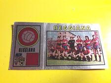 REGGIANA SCUDETTO/BADGE FIGURINA CALCIATORI PANINI 1974/75 SOCCER SERIE A REC.