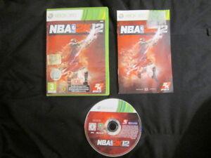 XBOX 360 : NBA 2K12 - Completo, ITA ! Il gioco ufficiale della NBA !