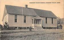 PLEASANT VALLEY, CT ~ PLESANT VALLEY SCHOOL ~ P. MASTERS, PUB. ~ c. 1940s