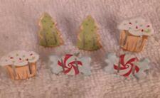 Ribbon Brads cupcake candy Christmas NEW So Cute