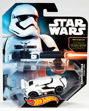 SDCC 2015 Mattel Exclusive NEW ORDER STORMTROOPER Hot Wheels THE FORCE AWAKENS