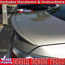 2013-2017 Honda ACCORD 4DR Factory Style Lip Spoiler Wing Trunk Lip PRIMER