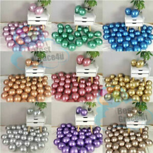 "5"" inch small latex balloons WHOLESALE party birthday 100 PCS wedding decoration"