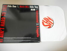 """LP Hiphop Nas - It Ain't Hard To Tell 12"""" (3 Song) SONY / COLUMBIA USA"""