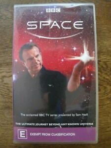 Space - BBC TV Series Documentary - Sam Neill - Rare Vintage 2002 VHS Video