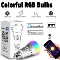 Wifi Remote Wireless Control Smart Light Bulb Switch Home Lamp For Google Alexa