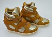 ASH WOMAN CASUAL SNEAKER SHOES WITH INSIDE WEDGE LEATHER CODE COOL BIS 84940