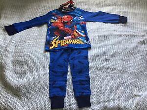 Boys spiderman Pyjamas Age 5-6 Years (Great Christmas Gift)