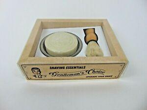 Rasierset Gentleman´s Choice mit Rasierpinsel, Seifenschale und Seife