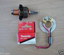 Makita 18V Armaturen,Bürsten & Halterung BTD140 BTD141 btd142 BTD146