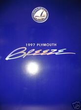 1997 Plymouth Breeze sedan new vehicle brochure