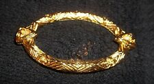 """Gold Toned Brooch 11/2"""" X 21/2"""""""