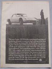 1971 Lotus +2 S130 Original advert No.3