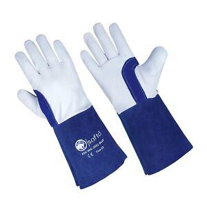 TIG Welding Gloves ,Spark Proof Welders Gloves for TIG|ARC|Solding|BBQ|Gardening