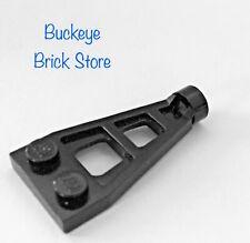 Vintage Lego Lote De Piezas De Placa De Bisagra 1x4 Negro Pirata Castillo espacio ciudad 4275 4276