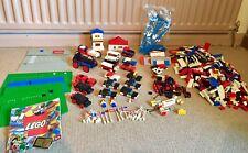 Vintage Lego Lote De Trabajo, con Rolls Royce, Train Set, coches y conjuntos de garaje 395, 116