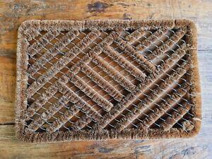 Türmatte Kokos Bürste 60 x 40 cm Fußmatte Schmutzmatte Fußabtreter