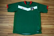 MEXICO 2006-2007 HOME FOOTBALL SOCCER HOME JERSEY SHIRT ADIDAS SIZE LARGE GREEN