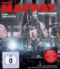 "Peter Maffay ""tatuaggi Live"" BLU RAY NUOVO"