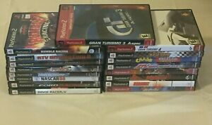 PS2 Racing Game (Lot of 17) Need for Speed, ATV Off road, Grand Turismo, Burnout