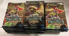 World Of Warcraft Tomb Of The Forgotten 36-count Booster Pack LOT For WoW TCG