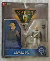 XYBER 9 NEW DAWN JACK 4 INCH ACTION SOLDIER BANDAI 1999