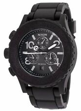 NIXON RUBBER 42-20 COLLECTION A309000-00 CHRONOGRAPH DATE MEN 20ATM WATCH.BR NEW