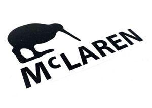 Bruce McLaren F1 Cars Formula 1 Motorsport Sticker 150mm Vintage 70s Retro