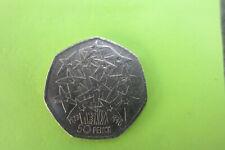 50p Coin 1998 European Union Free Postage