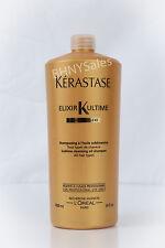 Kerastase Bain Elixir Ultime Sublime Cleansing Shampoo 34 oz/1000ml.+ free Pump