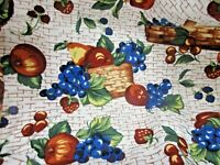 Longaberger Two Pint Fruits Basket Fabric LINER ONLY NIP NEW Berry Berries