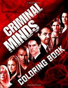 Criminal Minds Coloring Book: Great Gift For Adults Who Love... by Collins, Finn