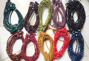 silk thread knot cord hand-knotted pendant necklace jade bead 5MM marking supply