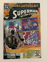 ACTION COMICS #689 NM+ 1st print DC COMICS Appearance of Superman in Black Suit