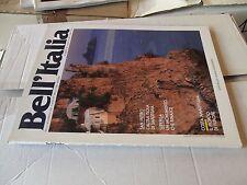 1990 Rivista BELL'ITALIA 52 Isola di San Pietro Costa Amalfitana Furore Poppi et