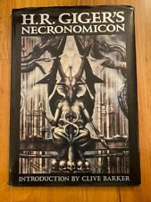 H. R. Giger's Necronomicon by Clive Barker and H. R. Giger (1993, Hardcover)
