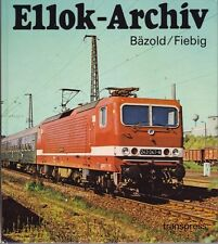 Ellok-Archives transpress veb verlag pour transports Berlin, 1987 Empire illustré
