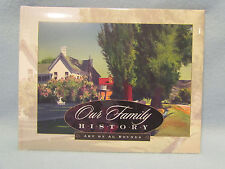 Our Family History Memory Record Keepsake Genealogy Book Al Rounds LDS Mormon