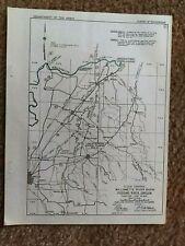 1879 Oregon Map Or Gresham Hood River Independence HUGE
