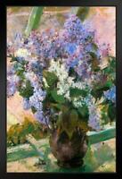 ProFrames Mary Cassatt Lilacs in a Window Art Painting Framed Poster 12x18